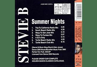 Stevie B - Summer Nights  - (Maxi Single CD)