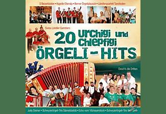 VARIOUS - 20 urchigi und chlepfigi Örgeli-Hits  - (CD)
