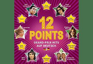 VARIOUS - 12 Points / Grand-Prix-Hits Auf Deutsch Vol.2  - (CD)