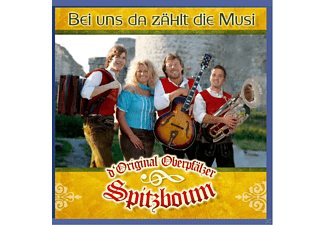D' Original Oberpfälzer Spitzboum - Bei Uns Da Zählt Die Musi  - (CD)