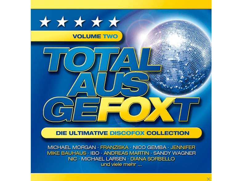 VARIOUS - Total Ausgefoxt Volume Two (Die Ultimative Discofox Collection) [CD]