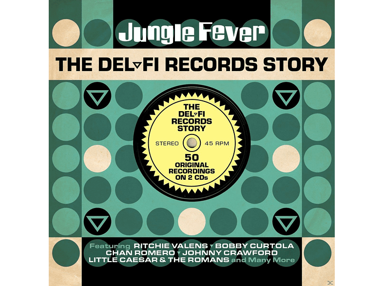 VARIOUS - Jungle Fever-Del-Fi Records Story [CD]
