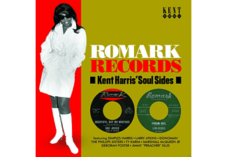VARIOUS - Romark Records-Kent Harris' Soul Sides  - (CD)