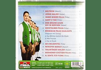 Die Innsbrucker Böhmische - Weltreise  - (CD)