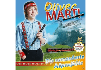 Oliver Marti - Die verzauberte Alpenflöte  - (CD)