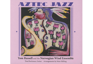 Tom Russell And The Norwegian Wind Ensemble - Aztec Jazz  - (CD)