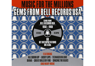 VARIOUS - Music For The Millions-Bell Rec.Usa Story 1956-60  - (CD)