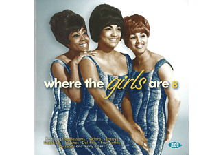 VARIOUS - Where The Girls Are Volume 8 - (CD)