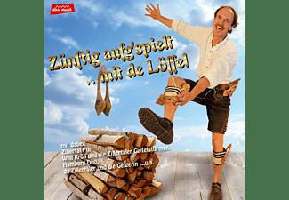 VARIOUS - Zünftig aufg'spielt mit de Löffel  - (CD)