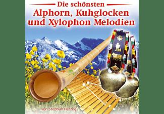 Stephan Herzog - Die schönsten Alphorn, Kuhglocken und Xylophon Melodien  - (CD)