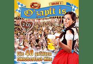 VARIOUS - O'zapft is-Die 40 größten Oktoberfest Hits  - (CD)