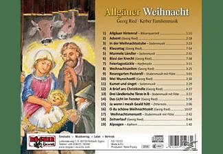 Georg Ried - Allgäuer Weihnacht  - (CD)
