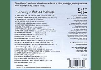 Brenda Holloway - The Artistry Of Brenda Holloway (+Motown Bonustrack)  - (CD)