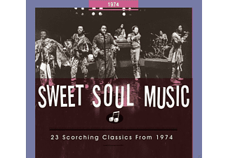 VARIOUS - Sweet Soul Music. 23 Scorching Classics From 1974 - (CD)