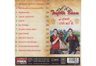 Teufelts Buam - I glaub i steh auf di  - (CD)