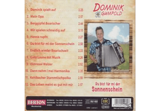 Dominik Gumpold - Du Bist Für Mi Der Sonnenschein  - (CD)