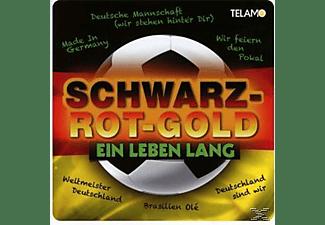 VARIOUS - Schwarz-Rot-Gold-Ein Leben Lang  - (CD)