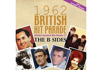 VARIOUS - The 1962 British Hit Parade:B Sides P.3: Sept-Dec  - (CD)