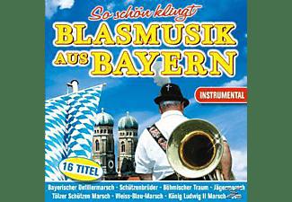 VARIOUS - So schön klingt Blasmusik aus Bayern  - (CD)