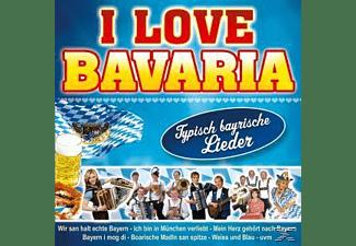 VARIOUS - I Love Bavaria  - (CD)