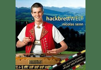 Nicolas Senn - Hackbrett Welt  - (CD)