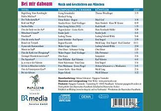 VARIOUS - Bei Mir Dahoam-Musik & Geschichten Aus München  - (CD)