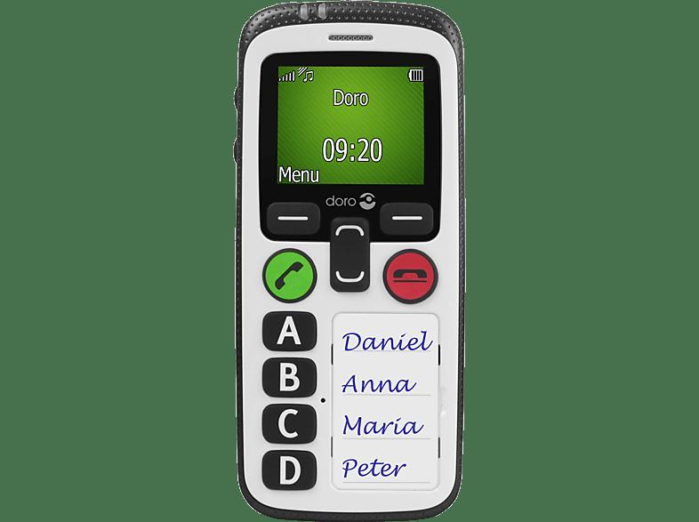 DORO Secure 580 Schwarz-Weiß, Seniorenhandy