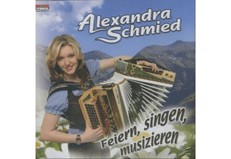 Alexandra Schmied - Feiern,singen,musizieren  - (CD)