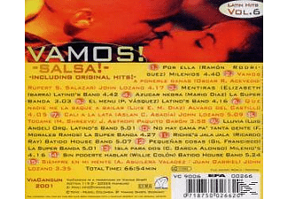 VARIOUS - Vamos! Vol.6-Salsa  - (CD)