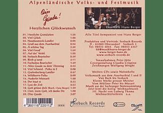 Hans Ensemble Berger - Oiss Guade!-Herzlichen Glückwunsch  - (CD)