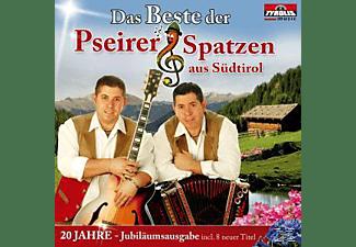 Pseirer Spatzen Aus Südtirol - Das Beste Pseirer Spatzen-20 Jahre-JubiläumsausgabE  - (CD)