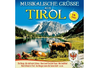 VARIOUS - MUSIKALISCHE GRÜSSE AUS TIROL  - (CD)