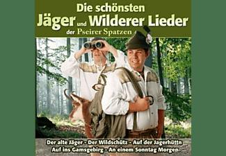Pseirer Spatzen - Die schönsten Jäger und Wilderer Lieder  - (CD)