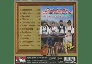 FINKEL'S HAUSMUSIK U. HACKBRETTMUSI - Frisch aufg'spielt m.Hackb.-Harmon.-Zither  - (CD)