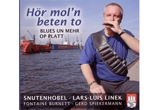 Linek,Lars Luis/Burnett,Fontaine/Spiekermann,Gerd - Hör Mol'n Beten To-Blues Un Mehr Op Platt  - (CD)