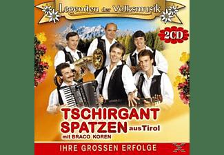 Tschirgant Spatzen - Ihre Grossen Erfolge-36 Original Aufnahmen  - (CD)