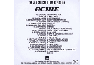 The Jon Spencer Blues Explosion - Acme & Xtra Acme (Remastered & Expanded)  - (CD)
