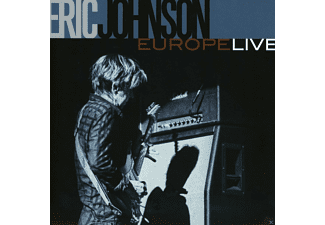 Eric Johnson - Europe Live - (CD)