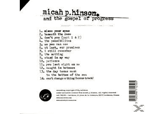Micah P Hinson - Micah P. Hinson & The Gospel Of Progress  - (CD)