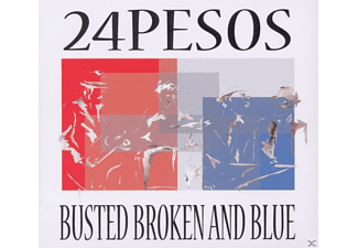 24pesos - Busted Broken And Blue - (CD)
