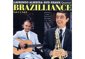 Almeida,Laurindo/Shank,Bud Quartet - Brazilliance Vol. 1 & 2 - (CD)