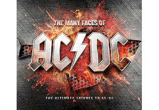 AC/DC - The Many Faces Of Ac/Dc - The Ultimate Tribute To Ac/Dc - (CD)