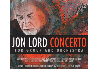 Jon Lord, Royal Liverpool Philharmonic Orchestra - Jon Lord - Concerto For Group And Orchestra - (CD + DVD Video)