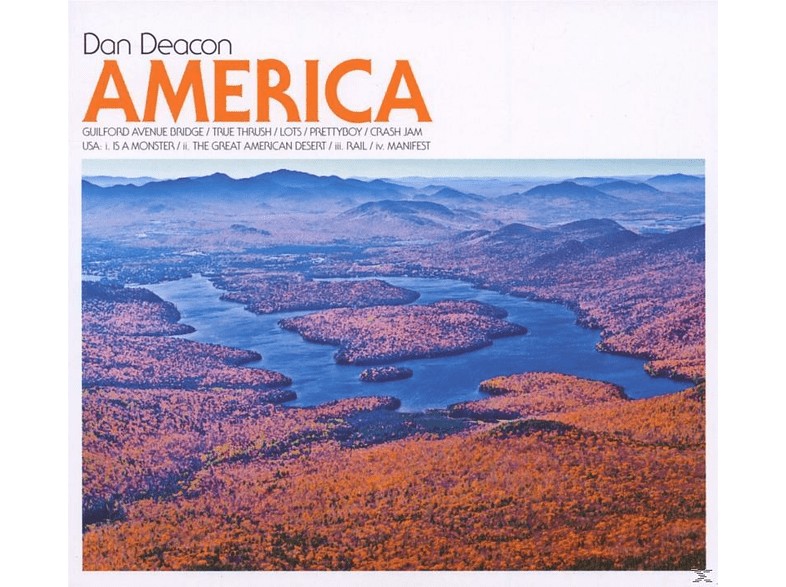 Dan Deacon - America [CD]