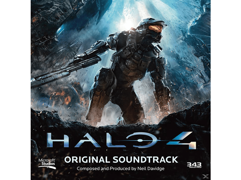 Neil Davidge - Halo 4 (Original Soundtrack) [CD]