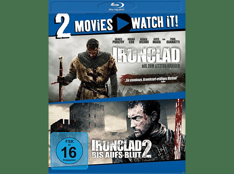 Ironclad 1: Bis zum letzten Krieger / Ironclad 2: Bis aufs Blut [Blu-ray]
