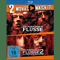 Doppel-Schocker: Die purpurnen Flüsse + Die purpurnen Flüsse 2 [Blu-ray]