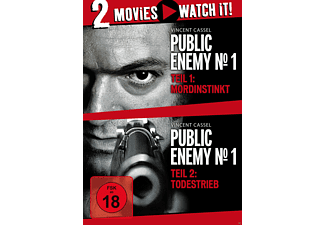 Public Enemy No.1 - Mordinstinkt & Todestrieb - Double Feature - (DVD)