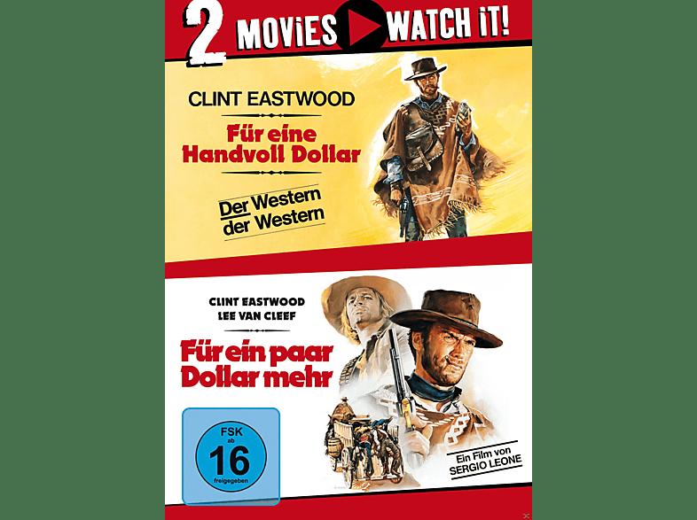 Für eine Handvoll Dollar & Für ein paar Dollar mehr [DVD]