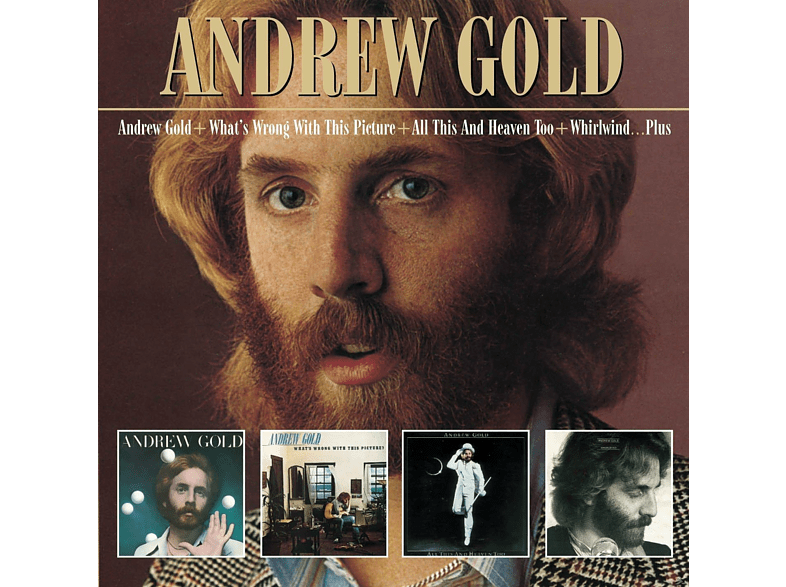 Andrew Gold - Andrew Gold + What's Wrong With This Picture + All This And Heavn Too + Whirlwind... (+Bonus Tracks) [CD]